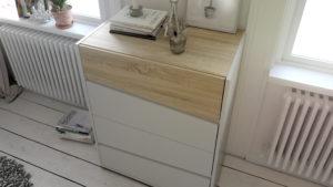 Metro chest by Tvilum w. 4 drawers