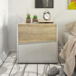 Metro nightstand by Tvilum
