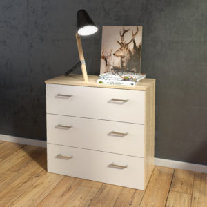 Norvic chest 3 drawers